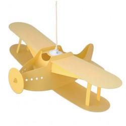 Suspension avion jaune