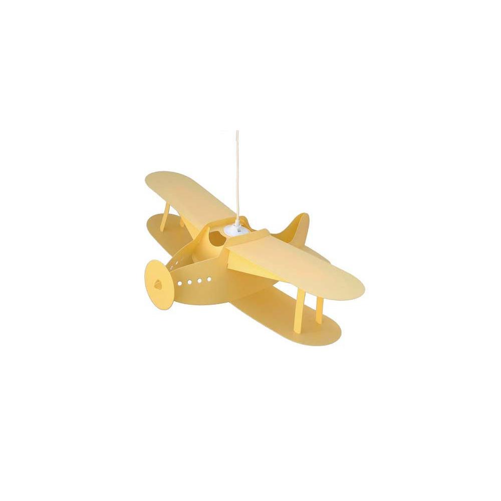 stunning suspension avion jaune with lampe avion plafonnier. Black Bedroom Furniture Sets. Home Design Ideas