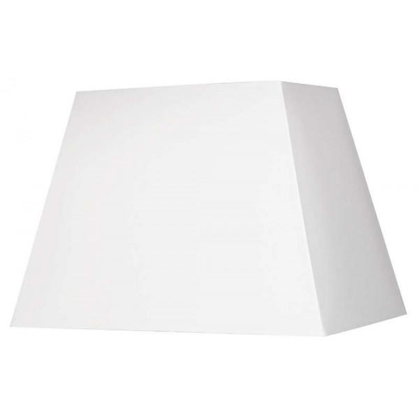 Abat-jour pyramide blanc