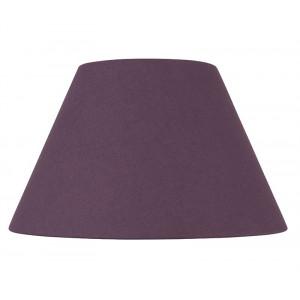 Abat-jour rond violet figue