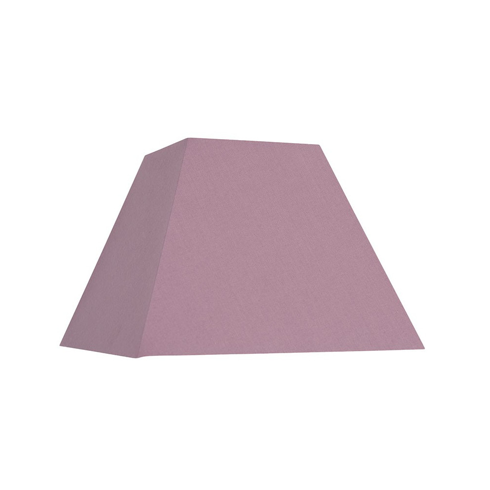 abat jour mauve forme pyramide base carr e vente sur lampe avenue. Black Bedroom Furniture Sets. Home Design Ideas
