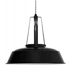 Suspension industrielle métal noir