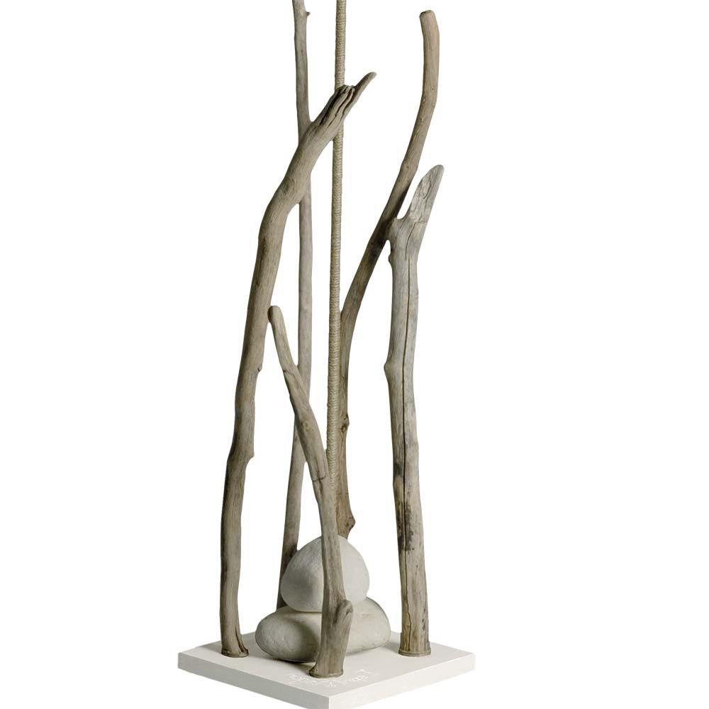 lampadaire abat jour blanc en bois flott en vente sur