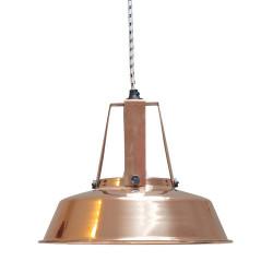 Suspension industrielle cuivre