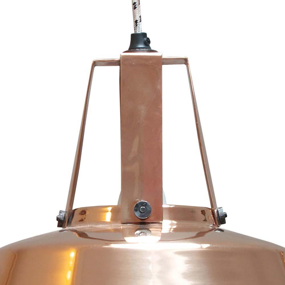 suspension industrielle cuivre lampe avenue. Black Bedroom Furniture Sets. Home Design Ideas