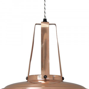 grande suspension industrielle en cuivre lampe avenue. Black Bedroom Furniture Sets. Home Design Ideas