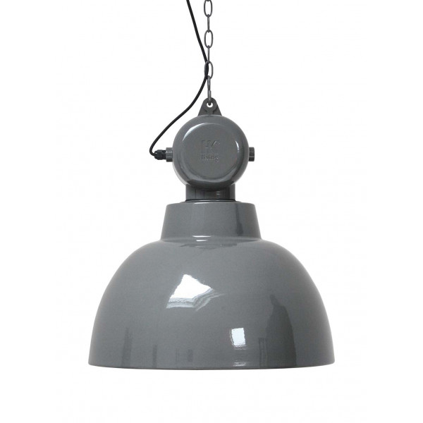 Suspension grise design industriel
