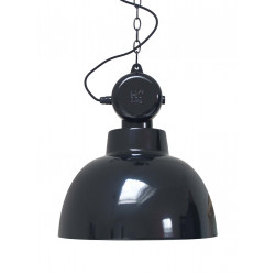 Suspension noire design industriel
