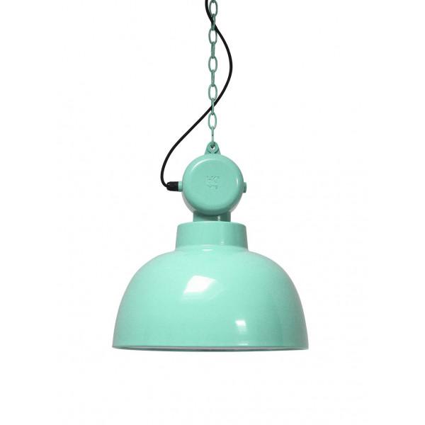 suspension vert pastel design industriel lampe avenue. Black Bedroom Furniture Sets. Home Design Ideas