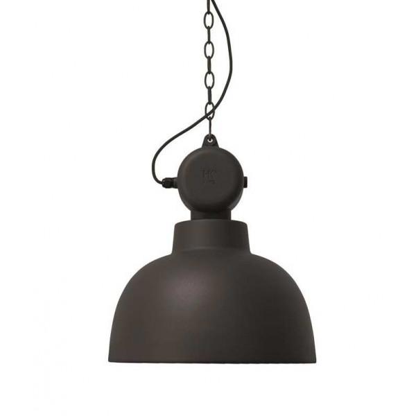 suspension noir mat design industriel lampe avenue. Black Bedroom Furniture Sets. Home Design Ideas