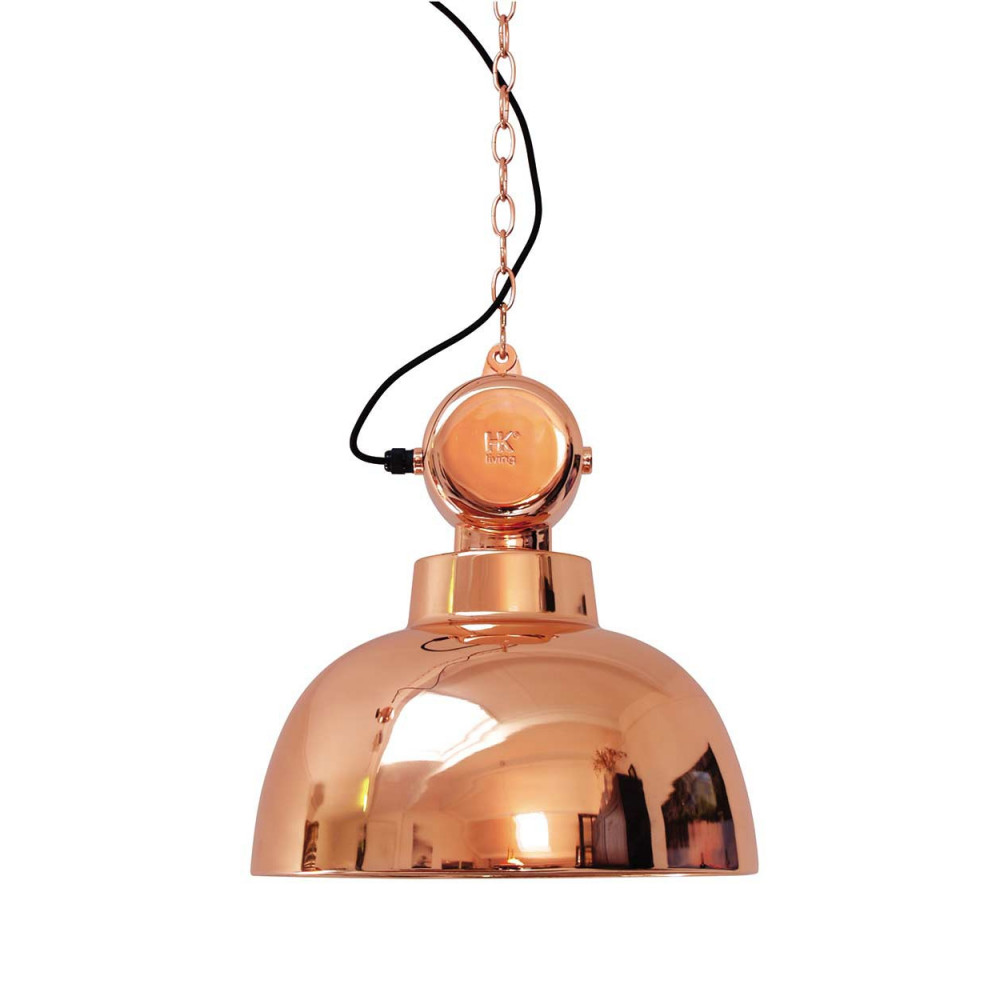 Suspension Cuivre Design Industriel En Vente Sur Lampe Avenue