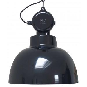 grande suspension noire design industriel 50cm de diam tre lampe avenue. Black Bedroom Furniture Sets. Home Design Ideas