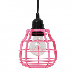 Suspension baladeuse rose