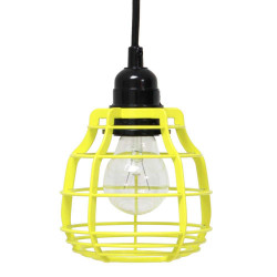 Suspension jaune baladeuse