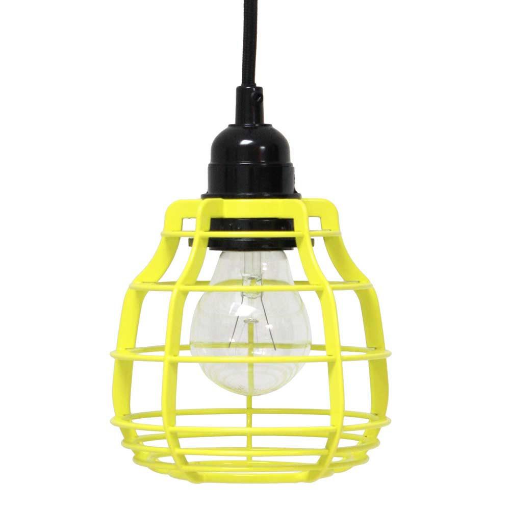 suspension jaune style baladeuse en vente sur lampe avenue. Black Bedroom Furniture Sets. Home Design Ideas
