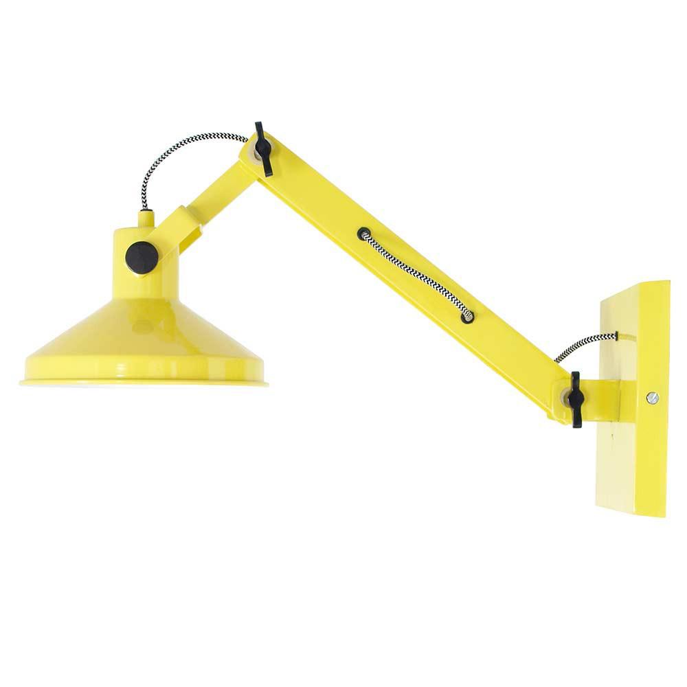 applique articul e jaune en m tal en vente sur lampe avenue. Black Bedroom Furniture Sets. Home Design Ideas