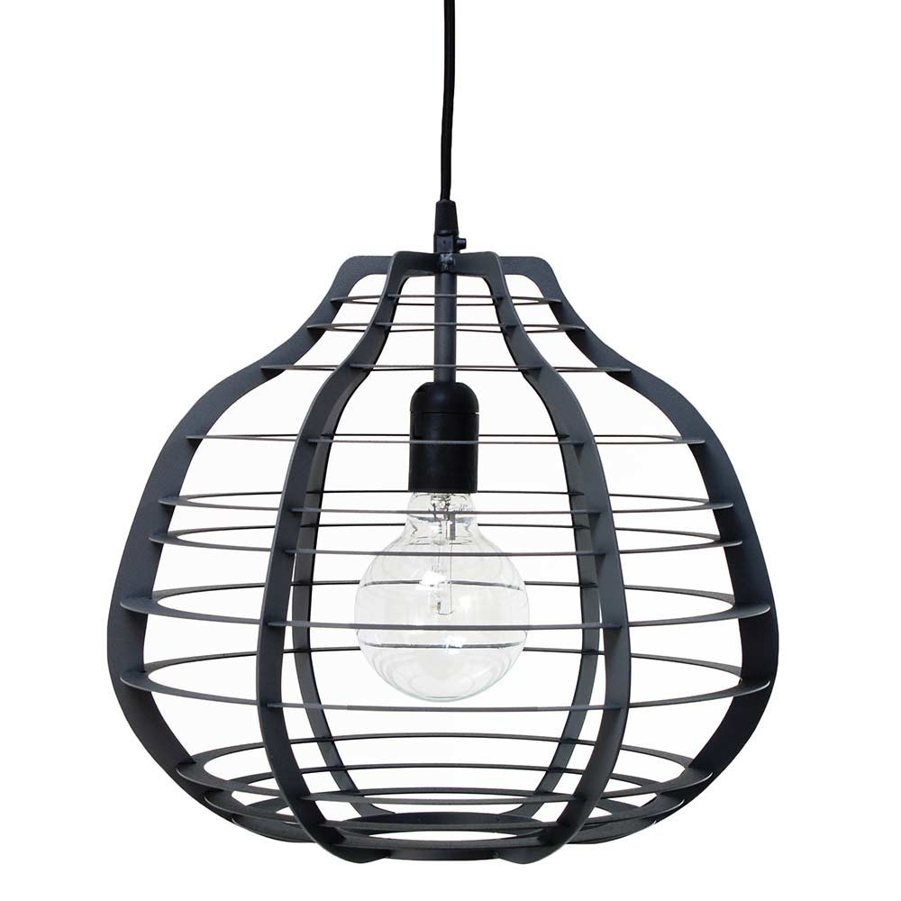 Suspension Originale Design Gris Mat Hk Living En Vente Sur Lampe Avenue