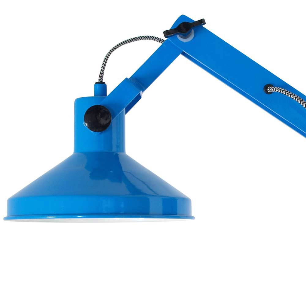 applique bleue esprit loft en vente sur lampe avenue. Black Bedroom Furniture Sets. Home Design Ideas