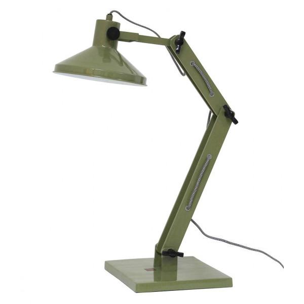 lampe de bureau verte design industriel en vente sur lampe avenue. Black Bedroom Furniture Sets. Home Design Ideas