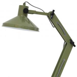 Lampe de bureau verte articulée