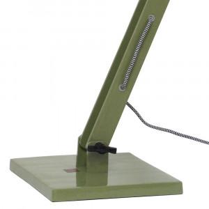 Lampe de bureau verte métal