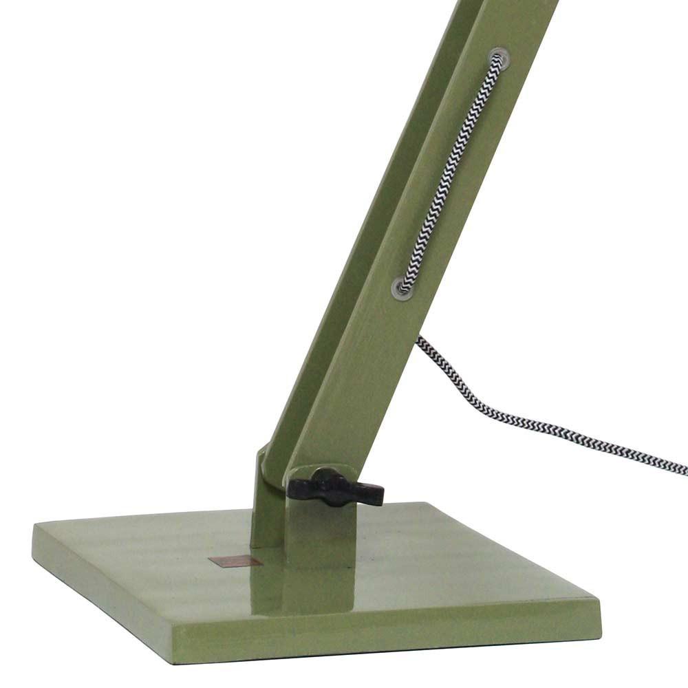 Lampe de bureau verte design industriel en vente sur lampe - Lampe de bureau style industriel ...