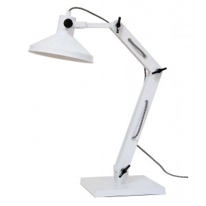 Lampe de bureau blanche loft