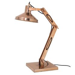 Lampe de bureau cuivre