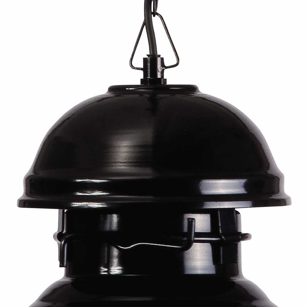 suspension vintage noire en m tal un luminaire hk living. Black Bedroom Furniture Sets. Home Design Ideas