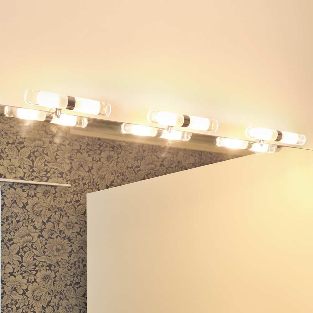 Luminaire à fixer sur miroir salle de bain - Lampe Avenue