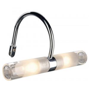 Luminaire de miroir de salle de bain avec pince