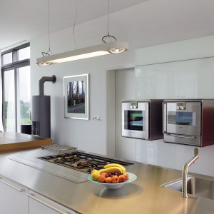 Grande suspension cuisine moderne