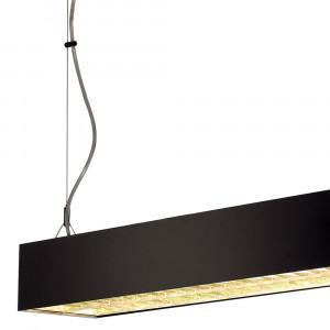 Suspension noire néon pour bureau