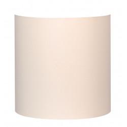 Applique abat-jour blanc crème