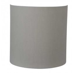 Applique abat-jour gris ciment