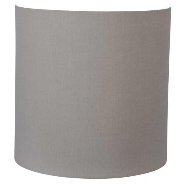 Applique abat-jour gris taupe