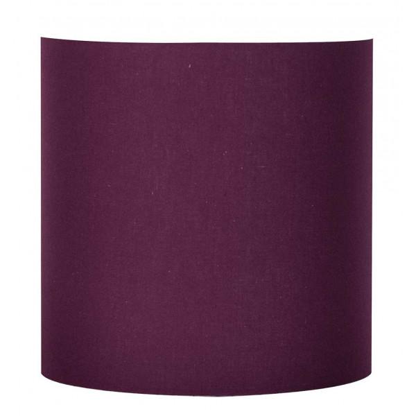 Applique murale couleur prune en abat jour coton achat - Violet prune couleur ...