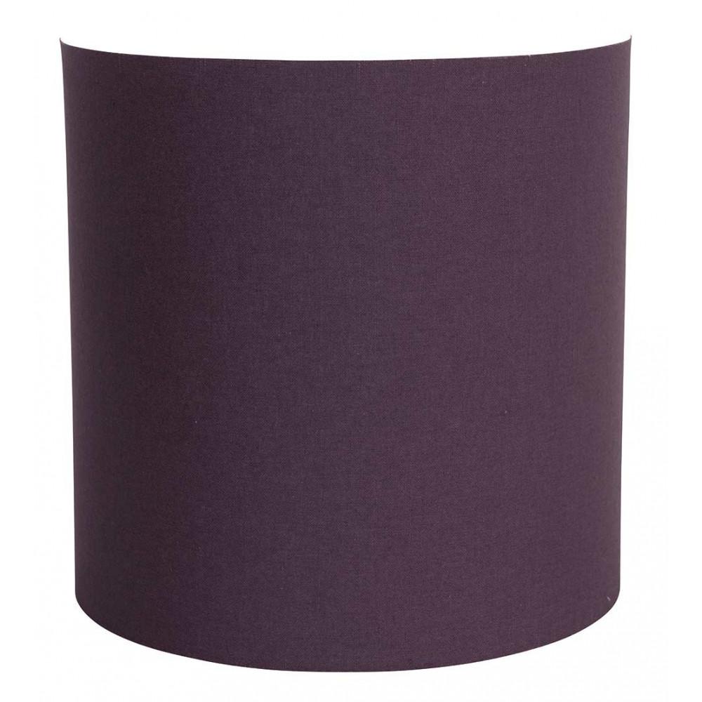 applique murale abat jour coton couleur figue en vente. Black Bedroom Furniture Sets. Home Design Ideas