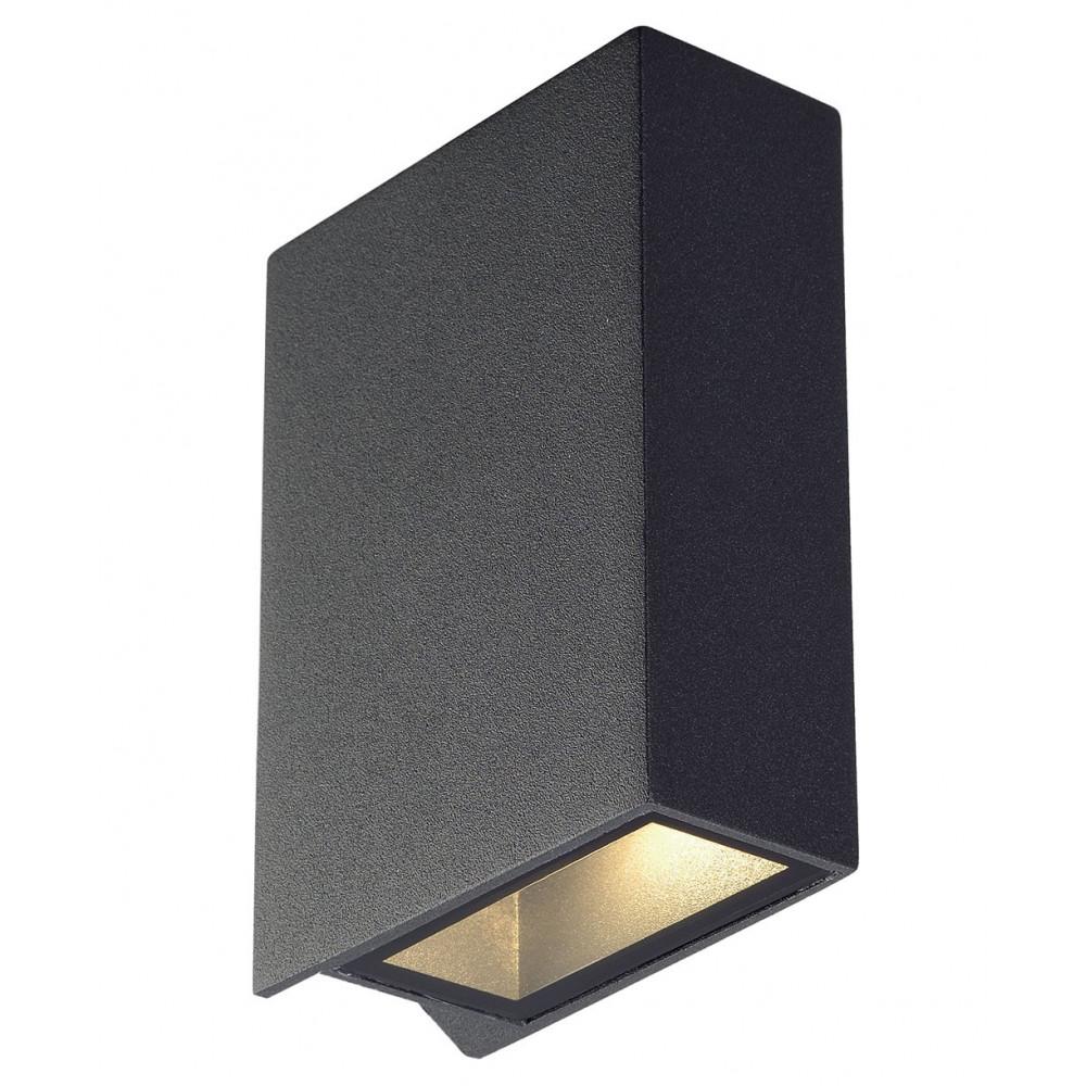 une applique design en alu gris pour une d co moderne. Black Bedroom Furniture Sets. Home Design Ideas
