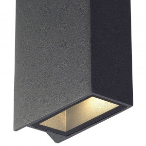 Applique LED moderne anthracite en alu