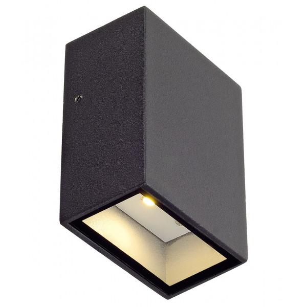 Applique LED design grise