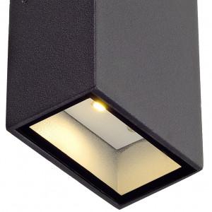 Applique LED design anthracite
