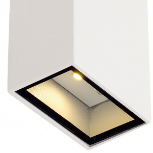 Applique IP44 blanche LED