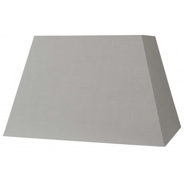 Abat-jour rectangle pyramide gris