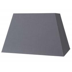 Abat-jour pyramide gris ardoise