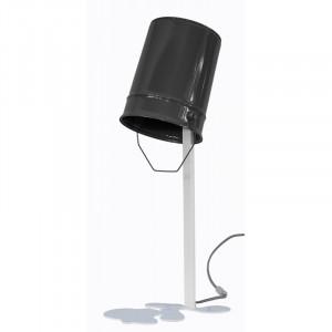 Lampe de table Oups - gris et blanc