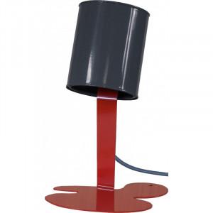 Lampe originale P'tite Oups - gris rouge