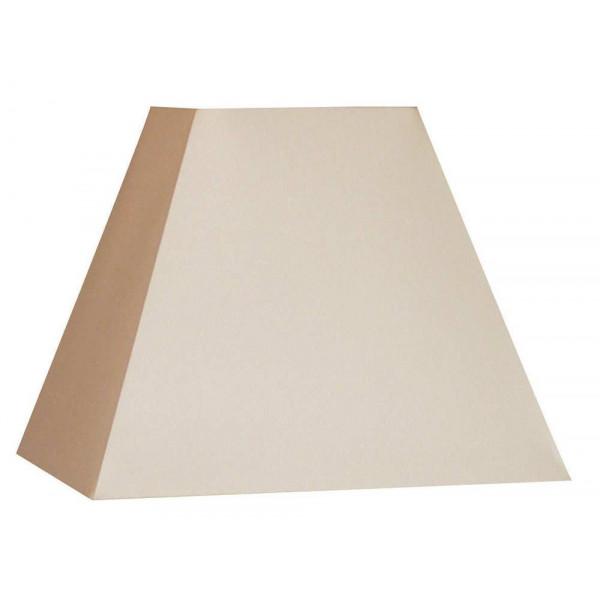 abat jour carr pyramide blanc cr me pas cher sur lampe. Black Bedroom Furniture Sets. Home Design Ideas