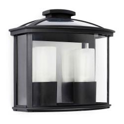 Applique extérieur polycarbonate et verre