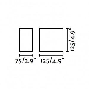Applique carrée dimensions